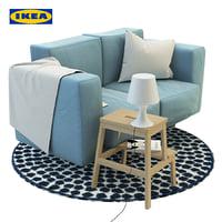 3D ikea furniture