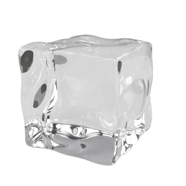 ice cube 10 version 3D model