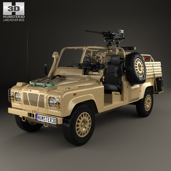 defender rwmik land 3D