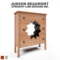 cabinet judson beaumont 3D model