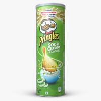 pringles chips sour cream 3D model