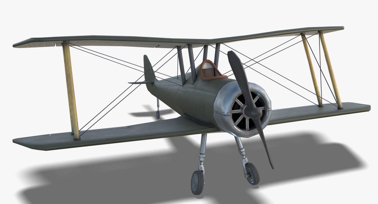 3D model airco dh 5