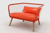 stefan armchairs honken 3D