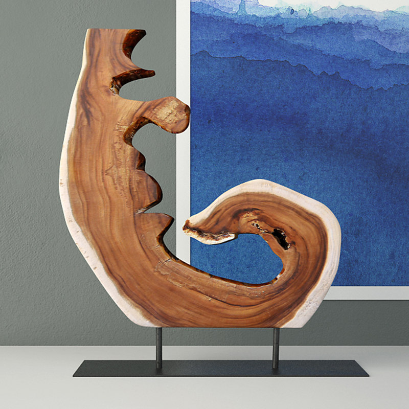 3D wooden decoration stand