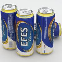 3D model beer efes