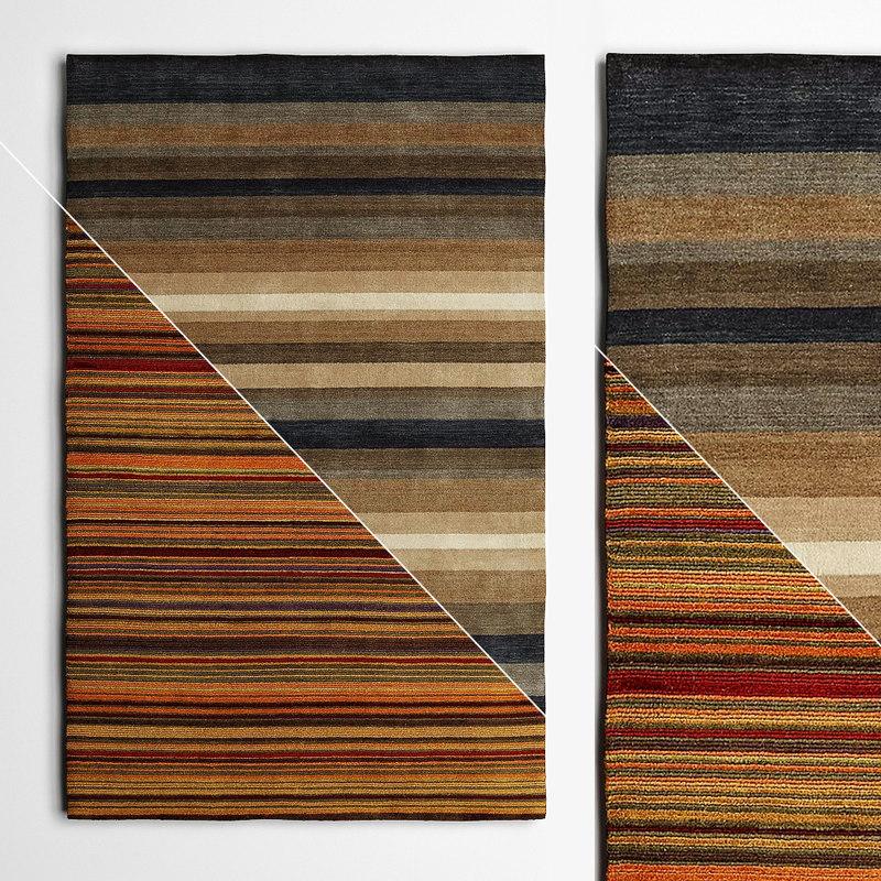 3D model rugs corona flooring