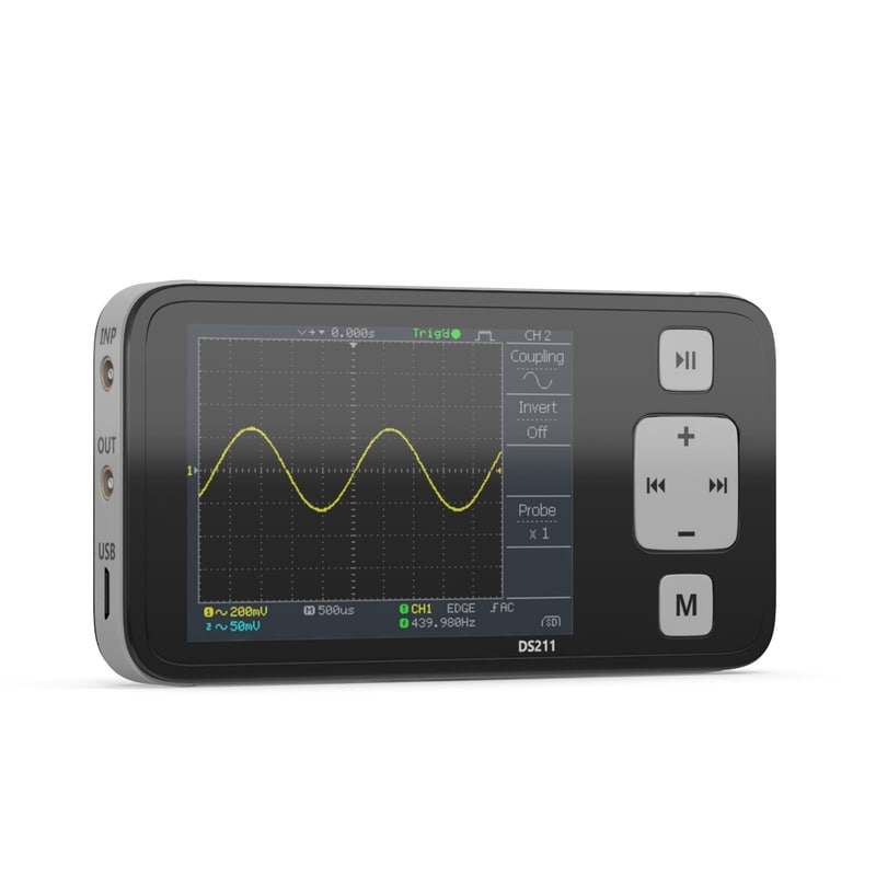 handheld digital oscilloscope 3D
