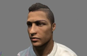 bust cristiano ronaldo 3D model