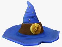 3D model hat low-poly