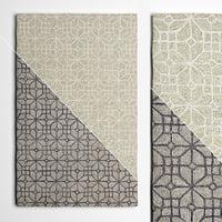wool rugs flooring 3D