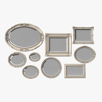 Picture-Mirror Frame Set