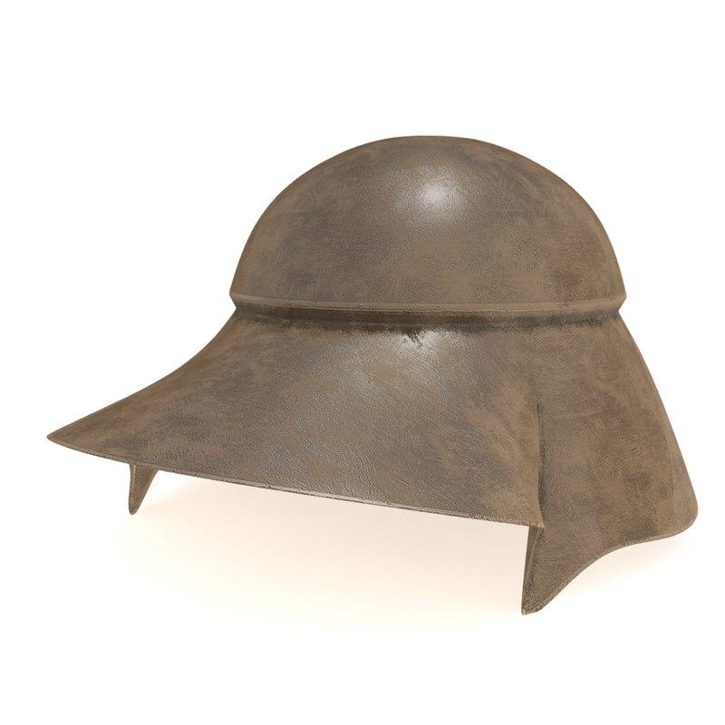boeotian helmet model