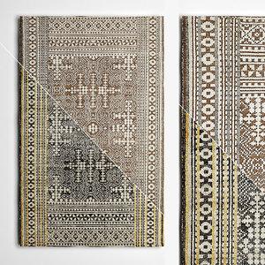 3D model rugs flooring