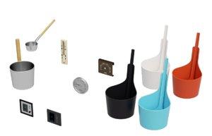 sauna accessory rento eos 3D model