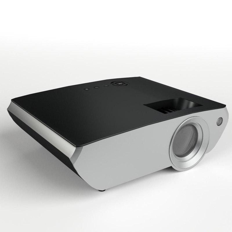 3D digital mini projector