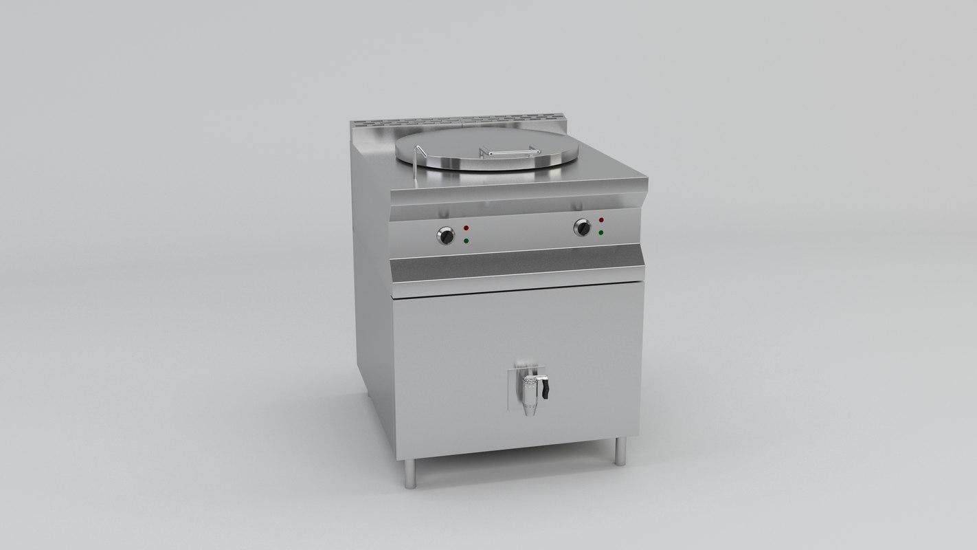 3D electrical boying tank