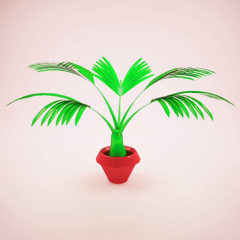 cartoon plant 3D