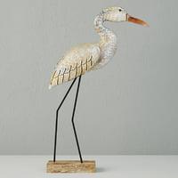 small egret statue 3D model