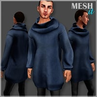 3D male sweater
