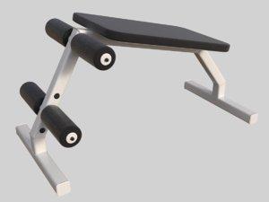 bench press professional 3D