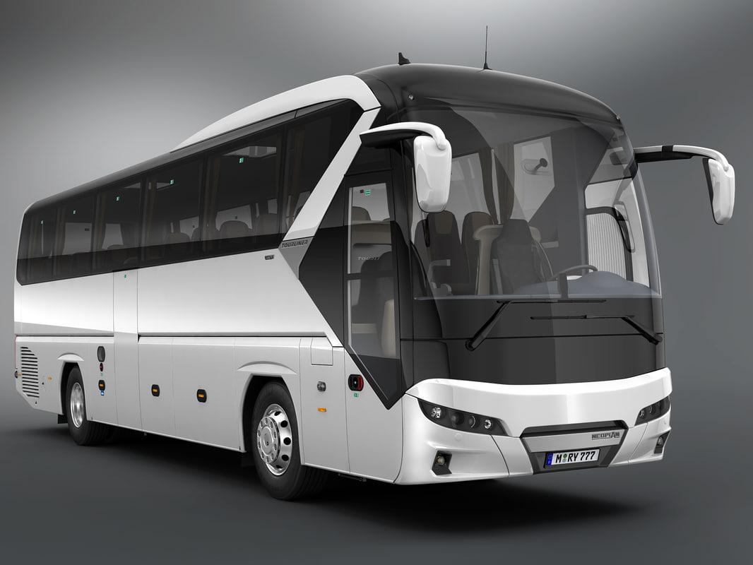 3D neoplan tourliner 2017