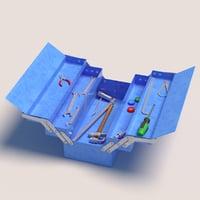 3D toolbox tool model