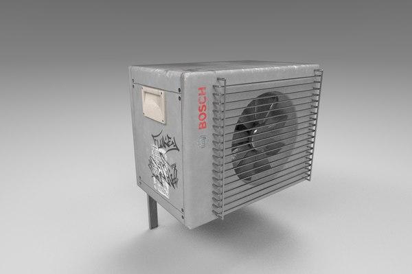 bosch air conditioner 3D model