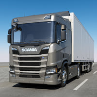 scania r 500 normal 3D model