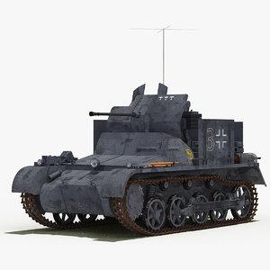 3D 2 cm flak 38 model