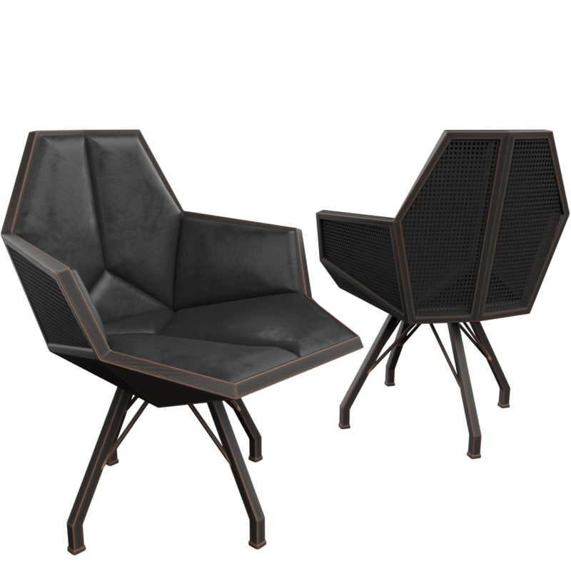 nice chair 3D model