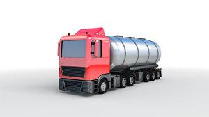 3D tanker tank