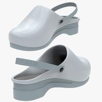 3D sabot shoe model