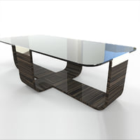 BEZEL COCKTAIL TABLE