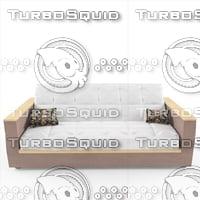 3D classic sofa