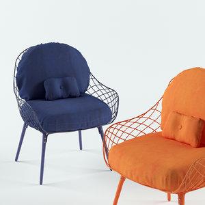 modelled seat 3D model