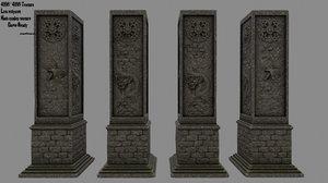 3D pillar