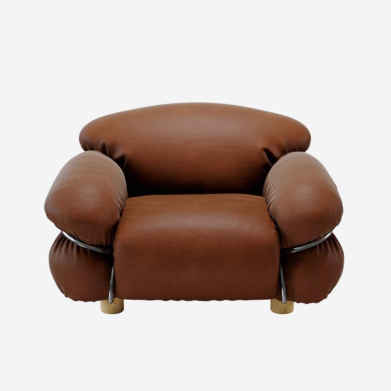 3D sesann armchair