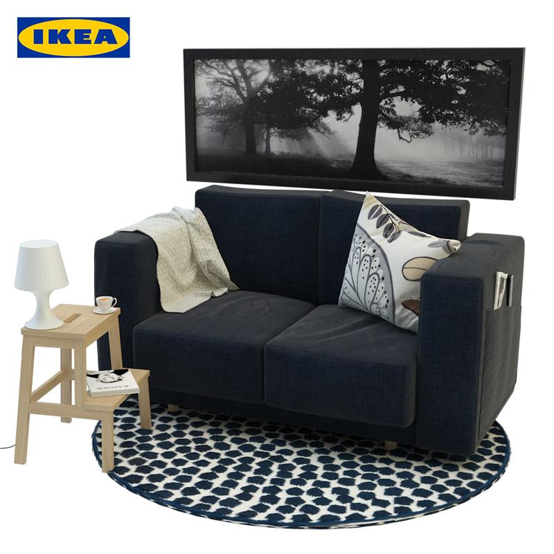 3d Ikea Furniture Model Turbosquid 1201758
