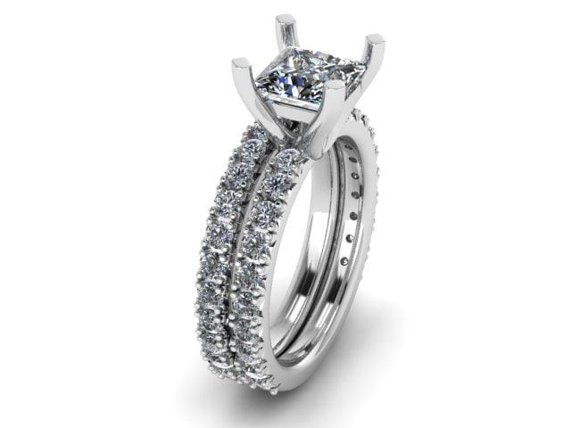 wedding ring matching 3D model