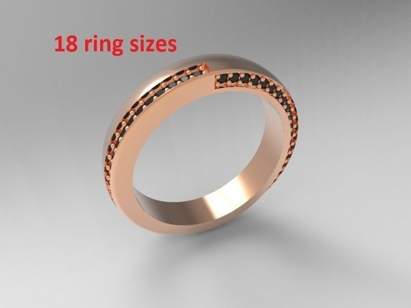 wedding ring package model