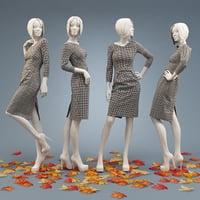 3D dress burda