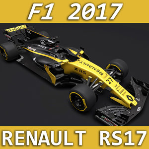 2017 renault rs17 3D model