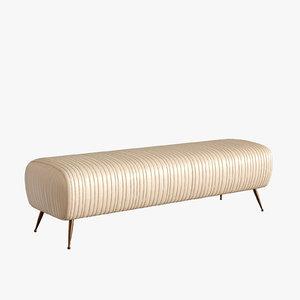 3D souffle bench model
