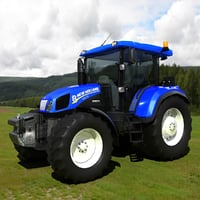 tractor new holland td5 3D