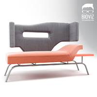3D sofa corner model