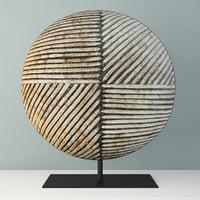 Songye Congo Wood Shield
