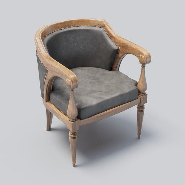 3D contemporary chair table