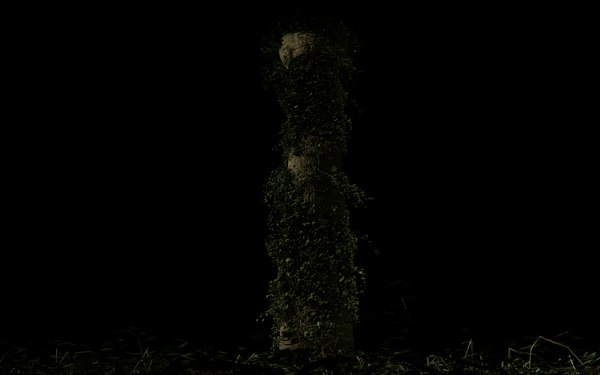 column vegetation 3D