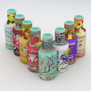 arizona beverage bottle 3D