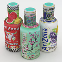 arizona beverage bottle 3D